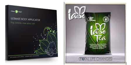 wrap vs iaso tea ou Total Life Changes versus It Works Global